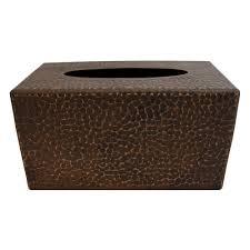 Tissue Holder Tissue Box Covers Bathroom Decor The Home Depot