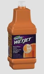 swiffer jet wood laminate floor cleaning solution