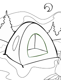 camping coloring pages camping coloring pages archives best