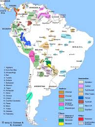 Middle And South America Map by Southamer