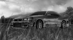 black nissan gtr wallpaper 4k nissan skyline gtr r34 jdm crystal nature car 2015 el tony