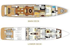 luxury yacht floor plans grenadine 3 int marine