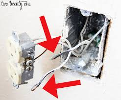 how to install a usb wall outlet receptacle outlet