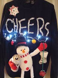 Ugly Christmas Sweater With Lights Ugly Christmas Sweaters Picmia