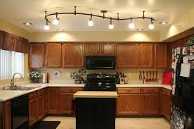 kitchen overhead lighting ideas simple kitchen ceiling lighting types of recessed with light fixture