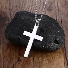 cross necklace fashion jewelry images Cross necklaces pendant for men fine stainless steel jewelry 316l jpg