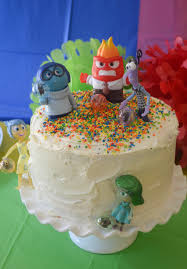 inside out cakes disney s inside out party hates cooking