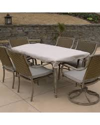 Rectangular Patio Table Cover Amazing Winter Savings On Sure Fit Hearth Garden Standard 76x48
