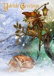 merry yule cards