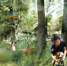 Botanical Gardens Houston The 9 Zoomiest Images In West 8 S Master Plan For The Houston