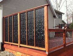 Privacy Screen Ideas For Backyard by Outdoor Privacy Screen Idea For Backyard Deck Attractive Privacy