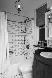 Black Grey And White Bathroom Ideas Bathroom Small Bathroom Black And White Bathroom White Tiles