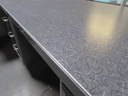 metal desk with laminate top brushed steel tanker desk with formica top recycled office furnishings
