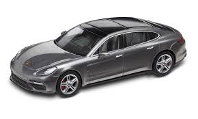 porsche panamera turbo 2017 black panamera turbo executive g2 agate grey metallic 1 43