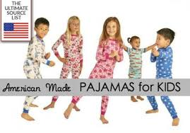 made in usa kid s pajamas a usa list source guide usa