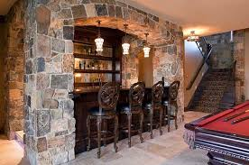 basement homes 27 basement bars that bring home the times