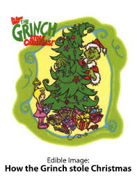edible image by lucks how the grinch stole christmas