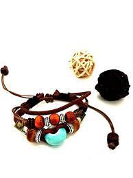 ceramic bracelet images Rihan adjustable bohemian handmade ceramic beads jpg