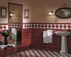 Red Bathroom Designs Colors Modern Wall Tiles In Red Colors Creating Stunning Bathroom Design