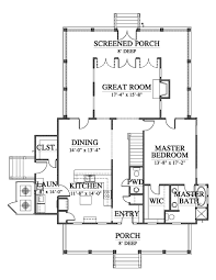 allison ramsey architects floorplan for oak spring 2306 square