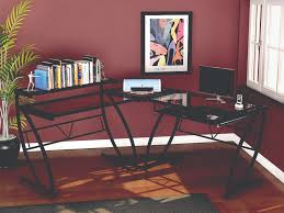 Z Line Designs Computer Desk Z Line Feliz Glass L Shaped Desk Zl1441 2du