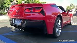 mustang stingray 2014 2014 corvette c7 stingray start up exhaust sounds