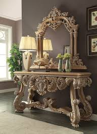 homey design hd 7012 royal kingdom console table mirror jpg 1476