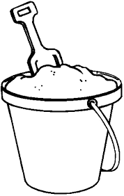 bucket filling coloring pages fill beach bucket with sand coloring pages best place to color