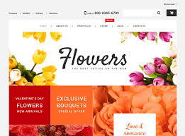Flower Store 25 Best Flower Shop Wordpress Themes 2017