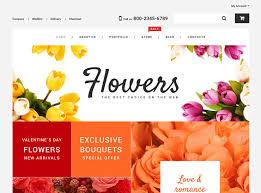 online florists 25 best flower shop themes 2017