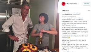 anthony bourdain celebrity chef anthony bourdain divorces mma fighter ottavia busia