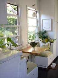 kitchen window seat ideas brilliant kitchen window seat with table for a breakfast nook in