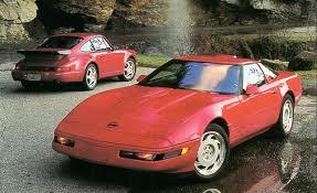 1991 porsche 911 turbo 1991 chevrolet corvette zr 1 vs 1991 porsche 911 turbo submodel
