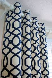 Navy And White Drapes Glamorous Cream And Navy Curtains 15 About Remodel Living Room