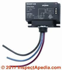 wiring thermostat electric heat relay wiring library