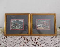 Home Interiors And Gifts Framed Art Framed Print Set Etsy