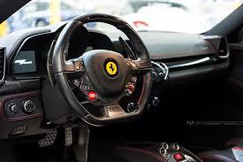 Ferrari 458 All Black - in the shop ferrari 458 spider performance package fabspeed