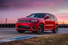 jeep mercedes red 2018 jeep grand cherokee trackhawk pricing announced automobile