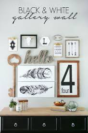 Grey And White Wall Decor Best 25 Black White Art Ideas On Pinterest Black White Nursery