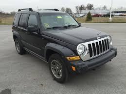 black 2005 jeep liberty used 05 jeep liberty renegade 3 7l v6 4wd auto black gray cloth