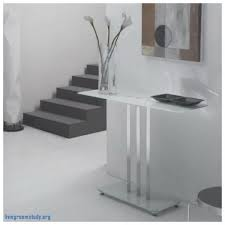 White Gloss Console Table Console Tables Elegant White Gloss Console Table With Drawers