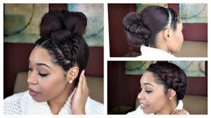 natural hair 3 quick hair styles for a blow out youtube