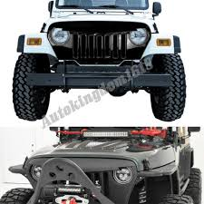 jeep bumper grill us ship black angry bird overlay grill grille for jeep wrangler tj