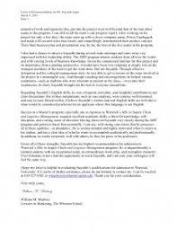 examples of personal letters of recommendation best template