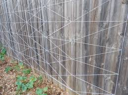 trellis from yarn coffee to compost