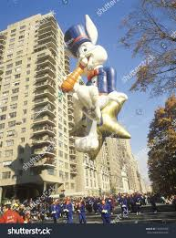 bugs bunny balloon macys thanksgiving day stock photo 176557709