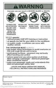 arctic cat trv service manual 28 images 2006 arctic cat 400