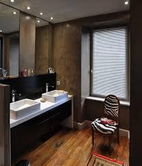 salle d eau dans chambre chambre salle d eau dressing contemporain salle de bain