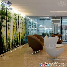 Home Interior Design Options Use The Newest Technology Of Digital Printing On Glass That Has