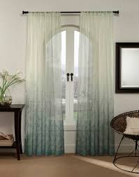 Ombre Sheer Curtains Sonoma Print Ombre Sheer Lightweight Curtain Panel Curtainworks
